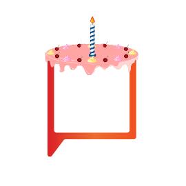 Carrington Communications first birthday cake