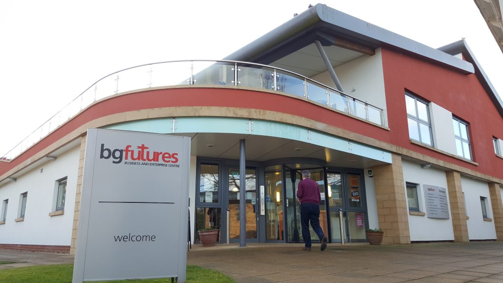 BG Futures - the office of Carrington Communications in Lincoln