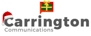 Carrington Communications festive logo