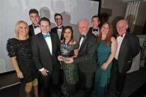 Duncan & Toplis with ICAEW East Midlands Large Accountancy Firm of the Year 2019